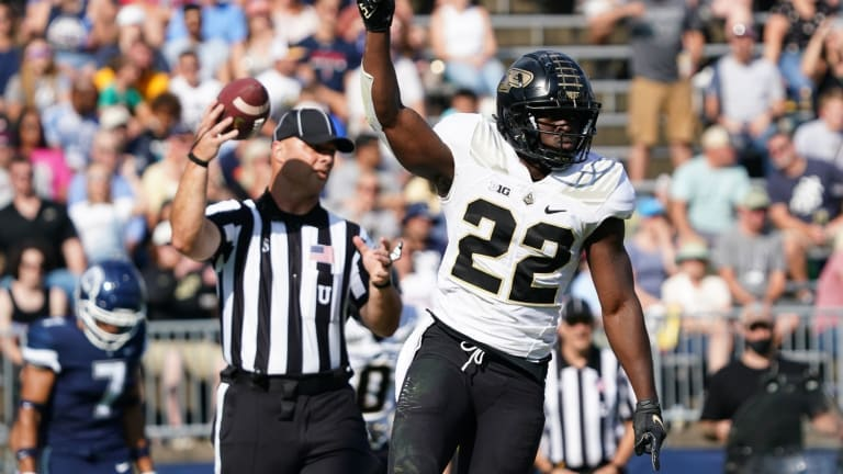 King Doerue, Dylan Downing Carry the Load For Purdue After Zander Horvath Suffers Injury