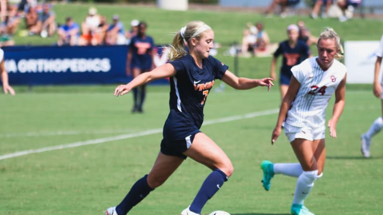 Spaanstra's Second-Half PK Lifts No. 3 Cavaliers over Sooners 2-1