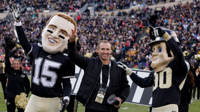 Former Boilermaker Drew Brees Will be on the Call for NBC When Purdue Plays Notre Dame