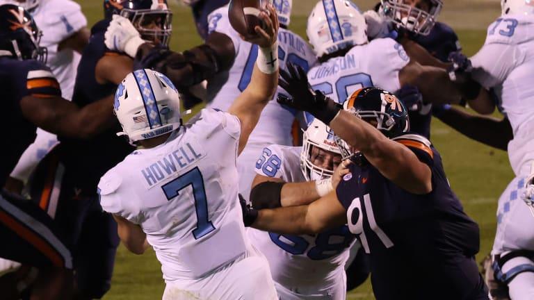 Stout UVA Defense Faces Toughest Test Yet at No. 21 North Carolina