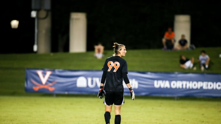 Virginia and UNCG Men's Soccer Play to a Scoreless Draw