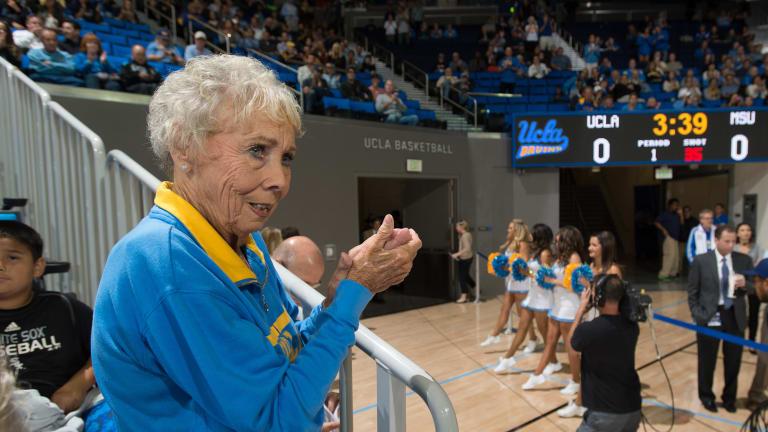 Nan Wooden, Daughter of Historic UCLA Coach John Wooden, Dies at 87