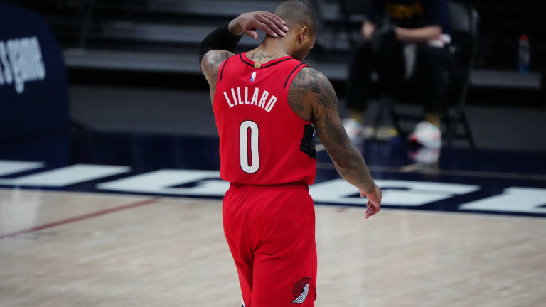 Carmelo Anthony Says Damian Lillard Has 'Never Talked About Leaving' Portland Trail Blazers