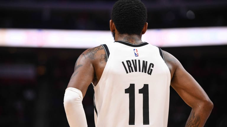 Here's What Kyrie Irving Tweeted About The Report He'd Retire If The Brooklyn Nets Traded Him