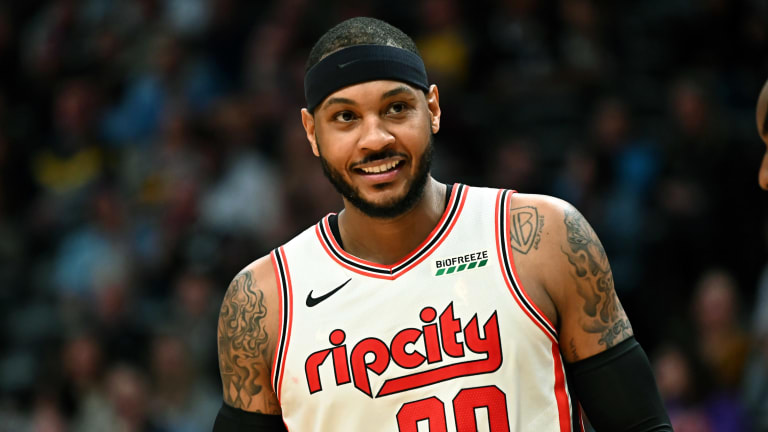 Carmelo Anthony Says Portland Did Not Contact Him About Re-Signing