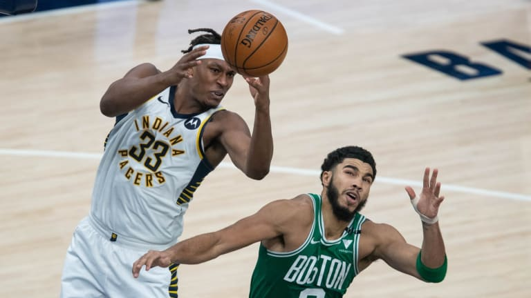 Opinion: This Player On The Boston Celtics Does Not Deserved To Be Ranked As High This Player On The Indiana Pacers In NBA 2k22