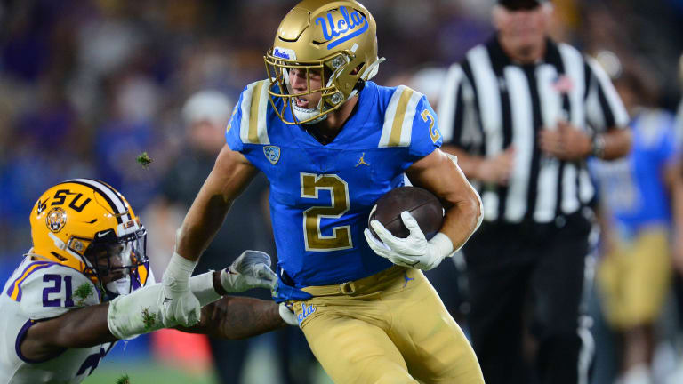 Kyle Philips' Blocking Earns Praise From Teammates, Coaches, Surprise UCLA Legends