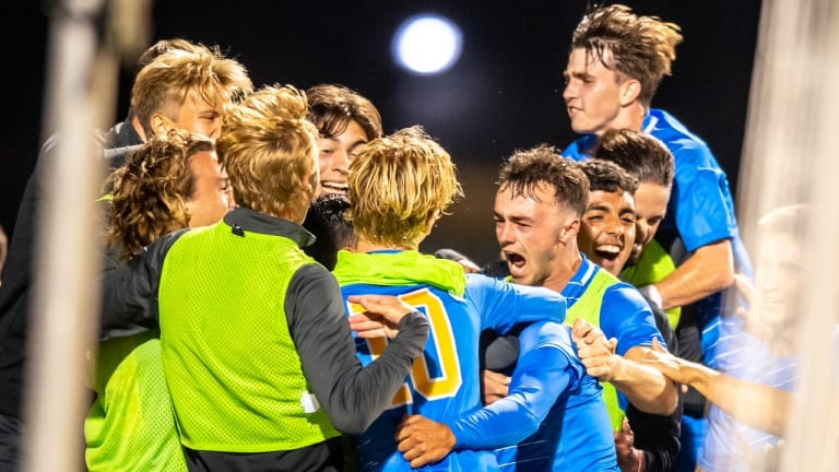 UCLA Men's Soccer Opens Pac-12 Play with Win Over Stanford