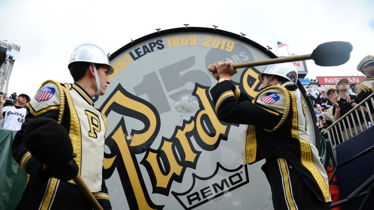 Purdue Marching Band to be Without 'World's Largest Drum' Saturday Against Notre Dame