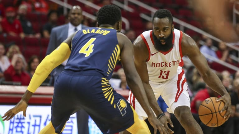 Former Magic, Thunder, Pacers, Rockets And Current Miami Heat Star Victor Oladipo Wishes Brooklyn Nets' James Harden A Happy Birthday