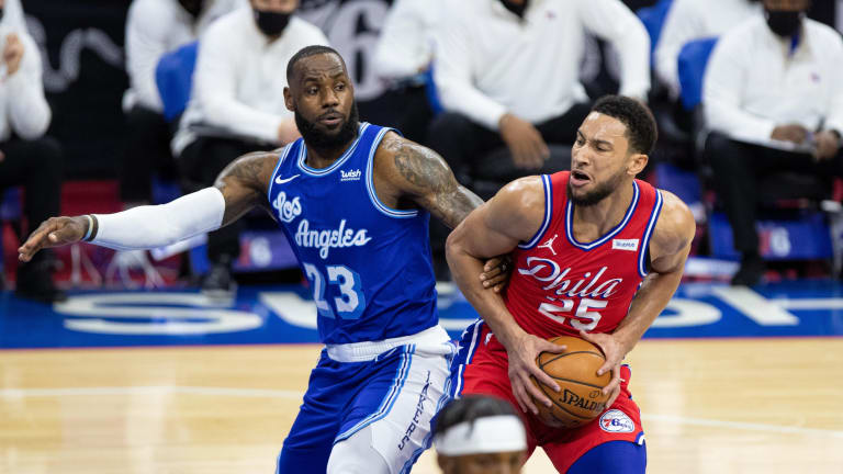 NBA Fans Speculate LeBron James Sub-Tweeted Ben Simmons