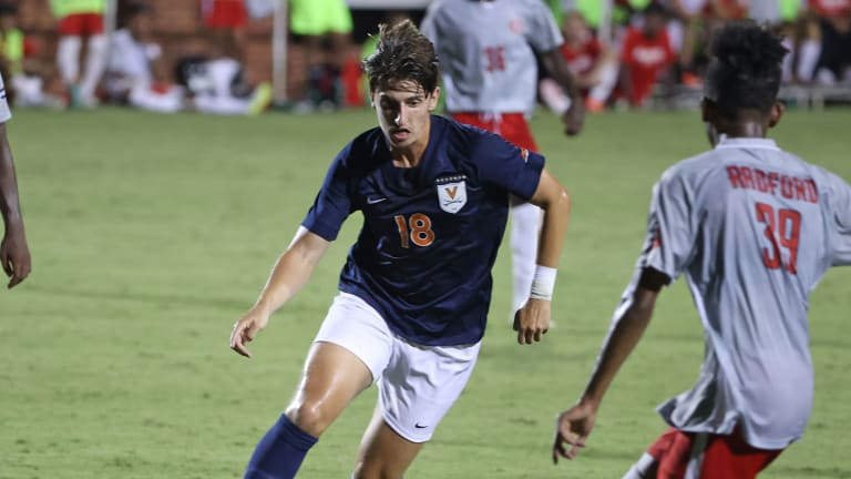 Virginia Men's Soccer Skid Continues with 2-1 Overtime Loss at No. 17 Virginia Tech