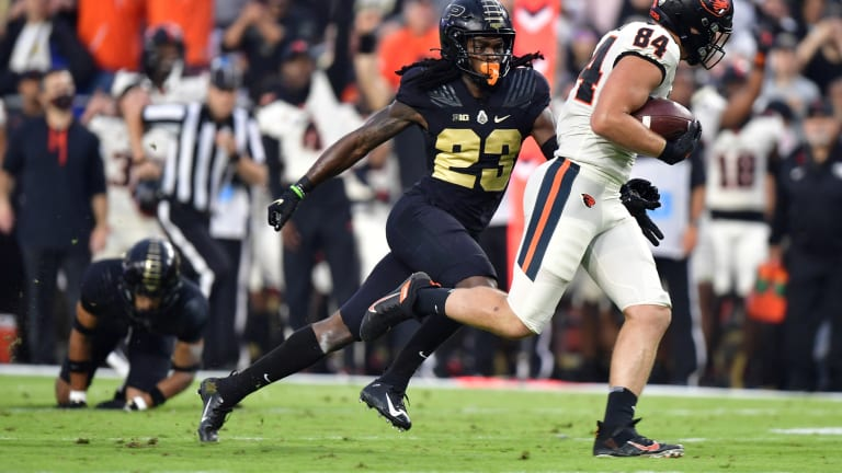 Purdue Cornerback Cory Trice Unavailable in Matchup Against No. 12 Notre Dame