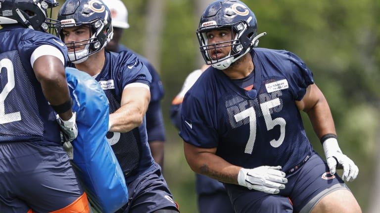 Bears Flex Two Players from Practice Squad