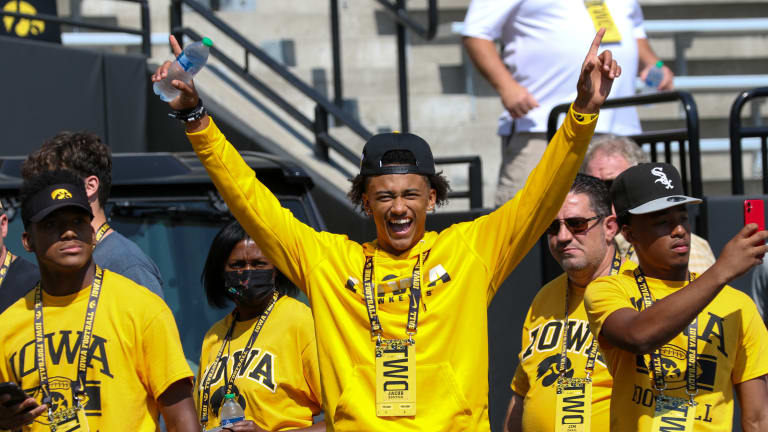 Photo Gallery: Recruits at Iowa-Kent State Game