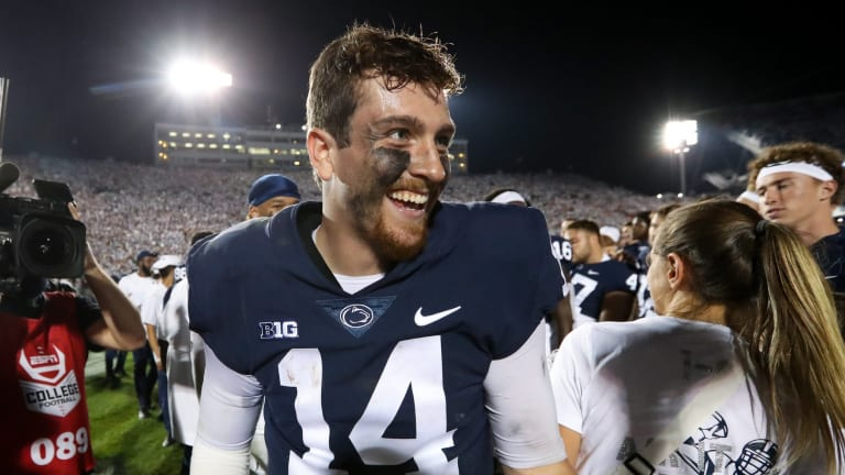 Big Ten: Penn State Moves Up 4 Spots to No. 6 in AP Poll After Big Win over Auburn
