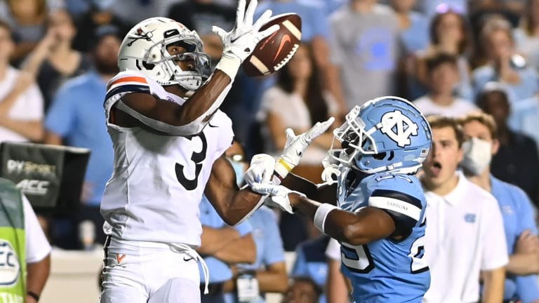 Three Positive Takeaways from Virginia's Loss at UNC