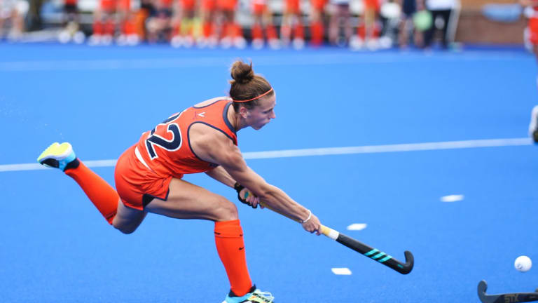 No. 11 Virginia Field Hockey Holds Off No. 24 Ohio State for 2-1 Victory