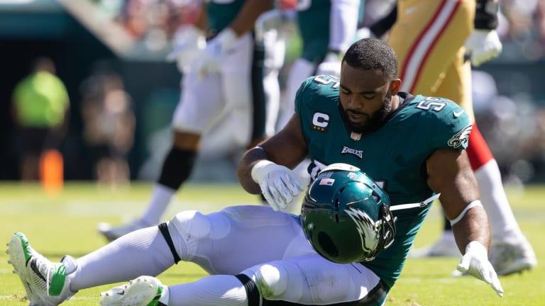 New York Giants Opponent Watch: Eagles Lose OL Brandon Books, DE Brandon Graham to Injuries