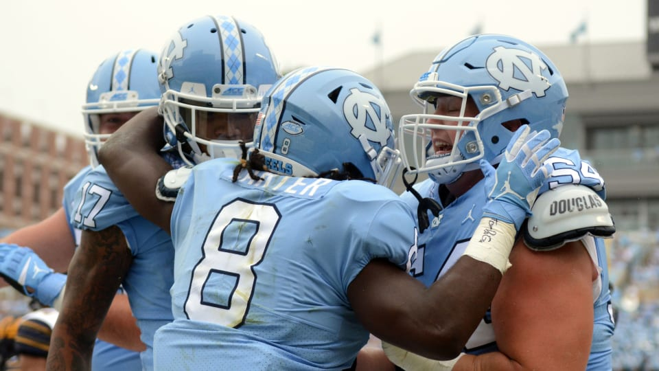 UNC Senior Day: Running Back Michael Carter Looks Back