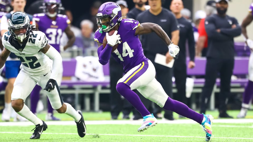 Stefon Diggs Is Back on Track in the Vikings' Offense