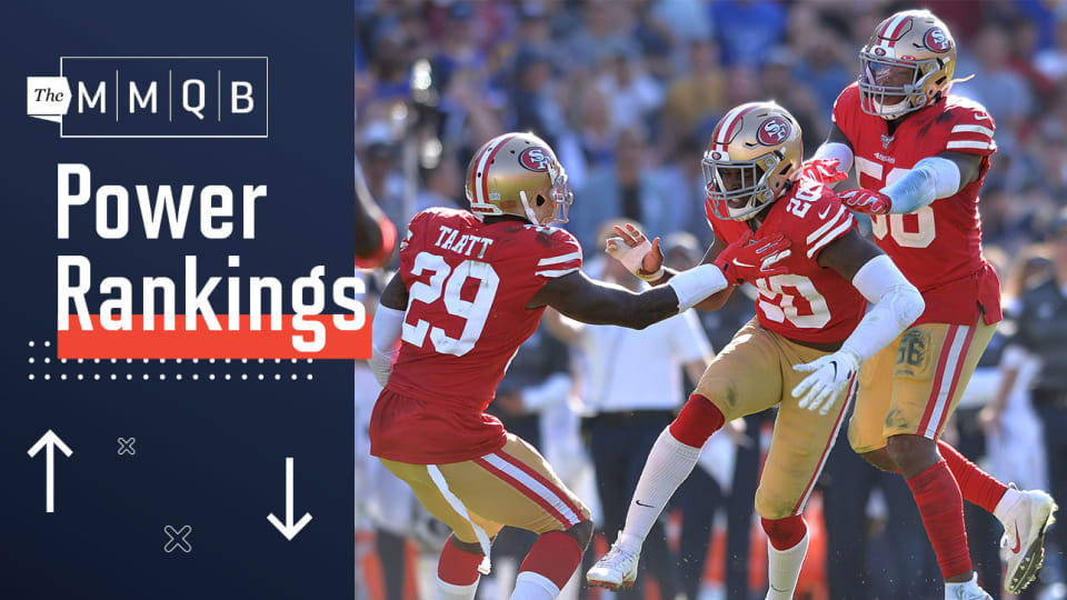 NFL Power Rankings Poll Week 7: Unbeaten 49ers at the Top; Eagles, Rams, Cowboys Sliding
