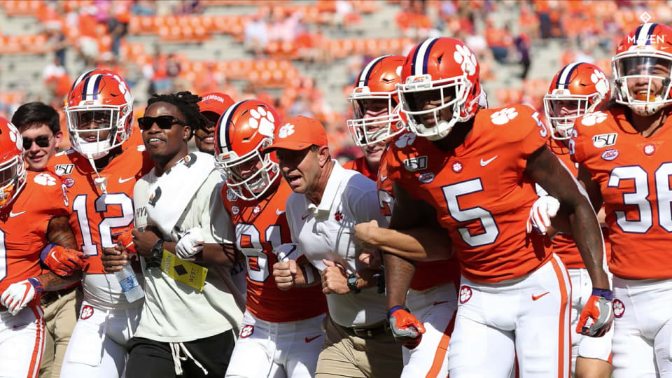 Kickoff Time, Television Announced for Boston College & Clemson Game