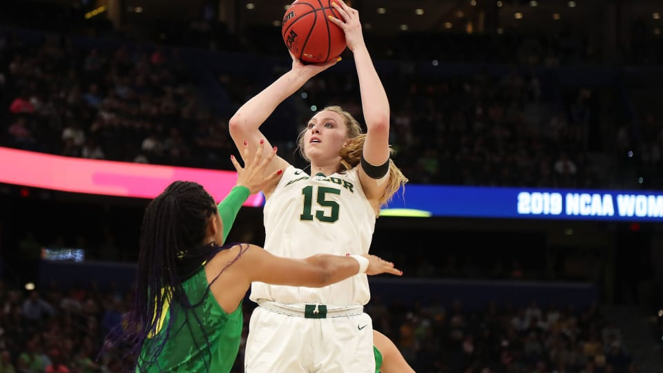 After Title Game Injury, Lauren Cox Is Back to Lead Baylor's Chase for Another Championship