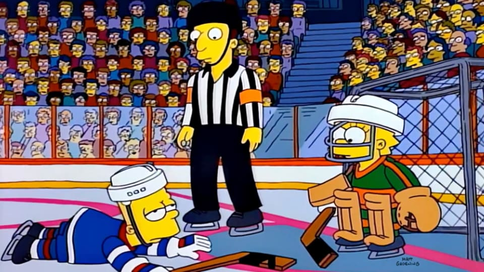Lisa on Ice: Inside 'The Simpsons' Iconic Hockey Episode
