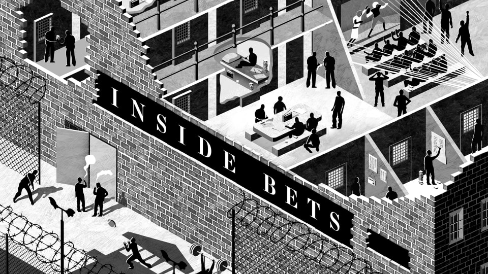 The Vibrant (and Still Illegal) Sports Gambling Scene That Exists Behind Bars