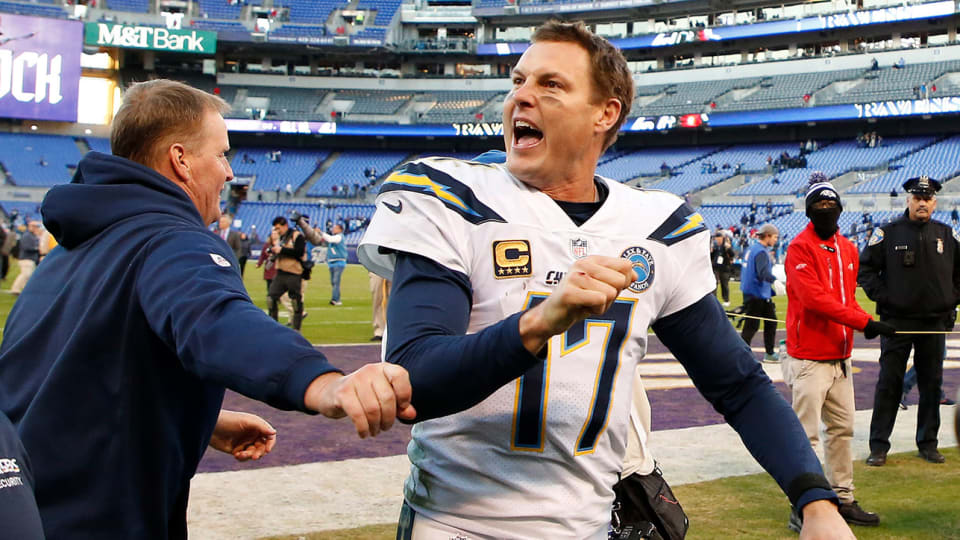 Philip Rivers Is as Fired Up as Ever for as Long as He's in Indianapolis