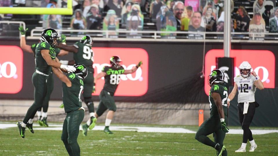 Spartan Football Essentials: Neon Green, and Lit