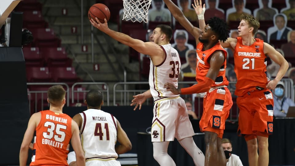 Boston College Men's Basketball Release Full 2021-22 Schedule