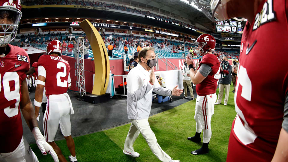 We Can Only Call Nick Saban What He Is, the Best Coach in College Football History