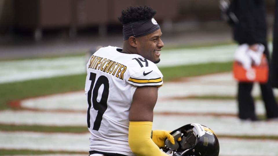 Even JuJu Smith-Schuster Realizes He Can't Stay With Steelers