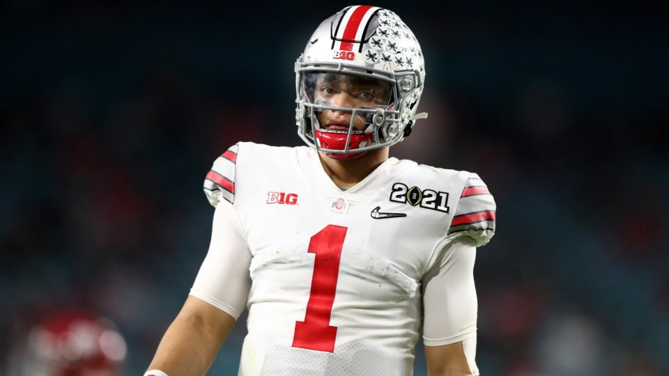 Justin Fields Has Declared for the 2021 NFL Draft, Can the Panthers Get Him?