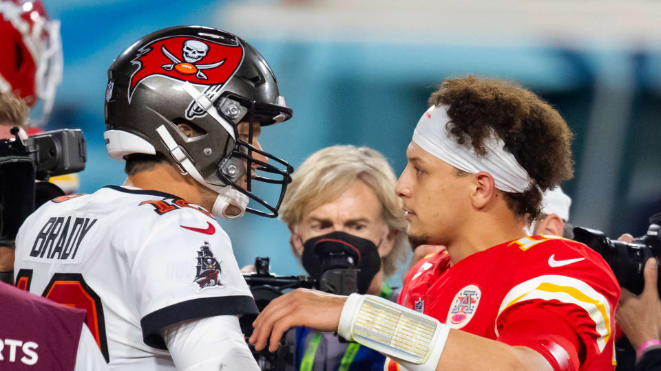 Patrick Mahomes and Tom Brady Co-Star on Madden 22 Cover