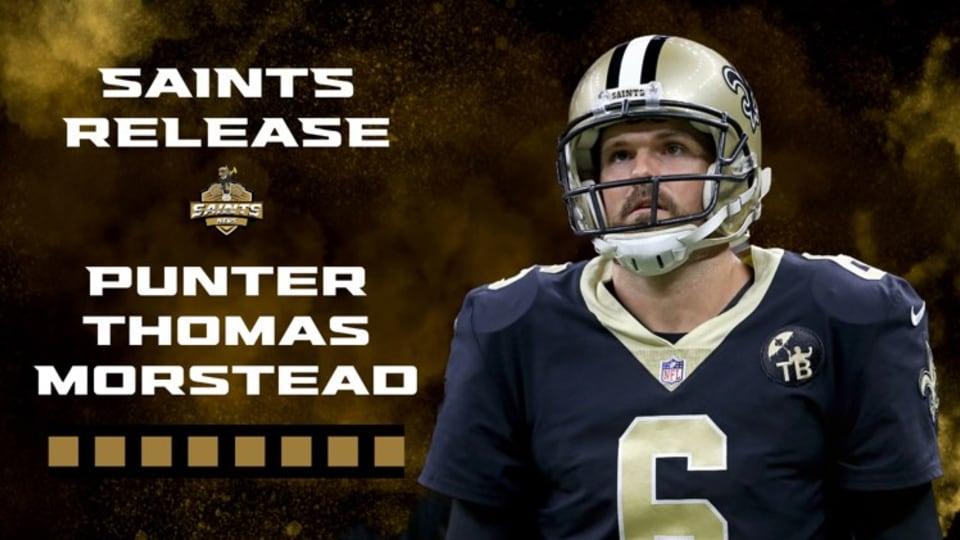 "Saints Release Punter Thomas Morstead - The Man who Kicked ""AMBUSH"""