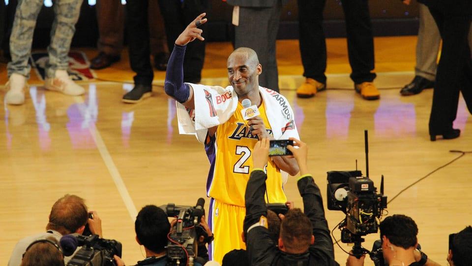 Kobe Bryant, Through the Years