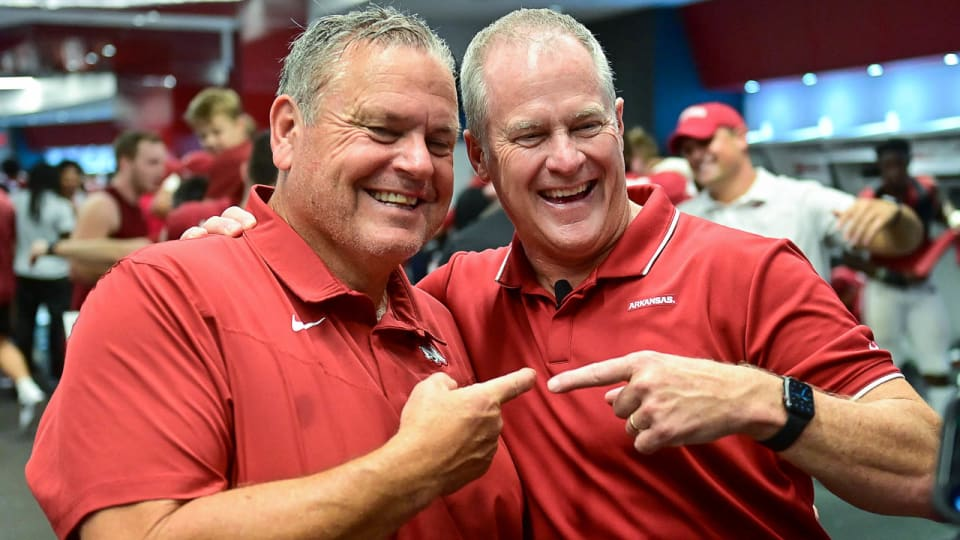 Things won't be getting easier for Hogs with 2022 schedule