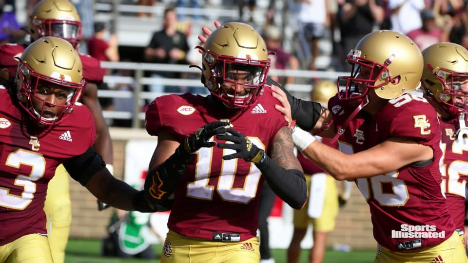 Two Boston College Eagles Earn ACC Player of the Week Honors