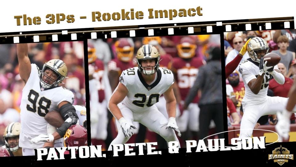 Saints Top Rookies Making an Impact
