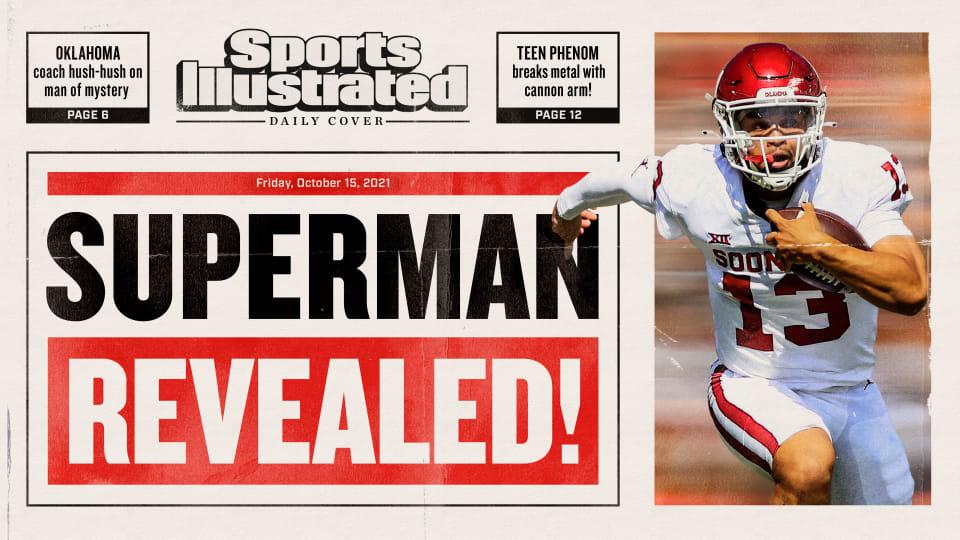 Caleb Williams: Superman Revealed!