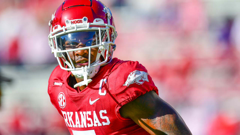 Catalon Not in Lineup for Arkansas with Apparent Injury