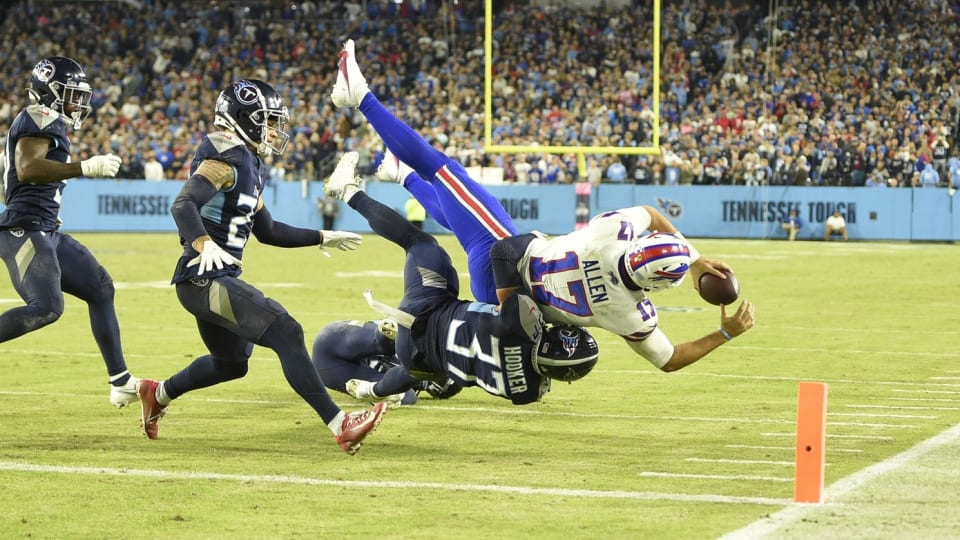 Bills Report Card: Mixed Results after loss to Tennessee Titans
