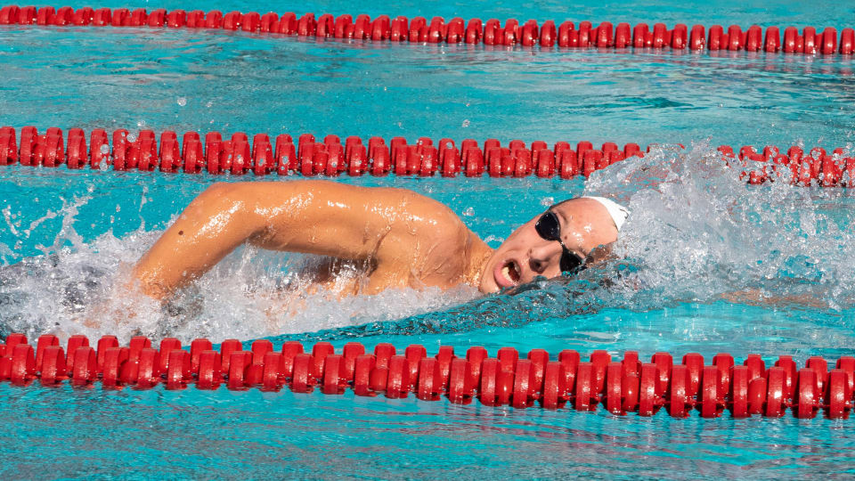 Swimming and Diving: Freri Receives Two Big 12 Weekly Honors