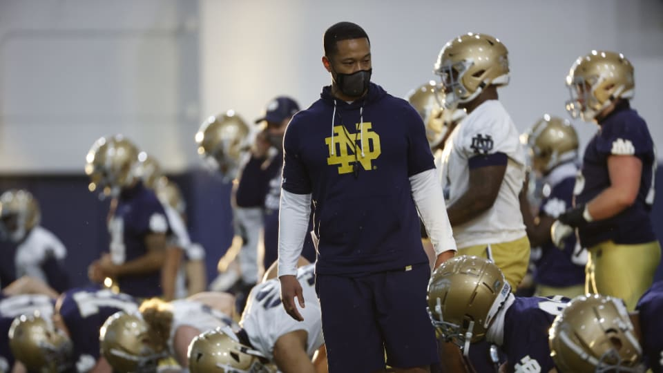 One-on-One With Notre Dame Defensive Coordinator Marcus Freeman