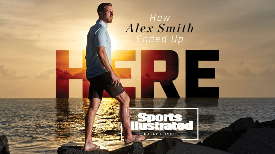 Alex Smith retirement Sports Illustrated daily cover
