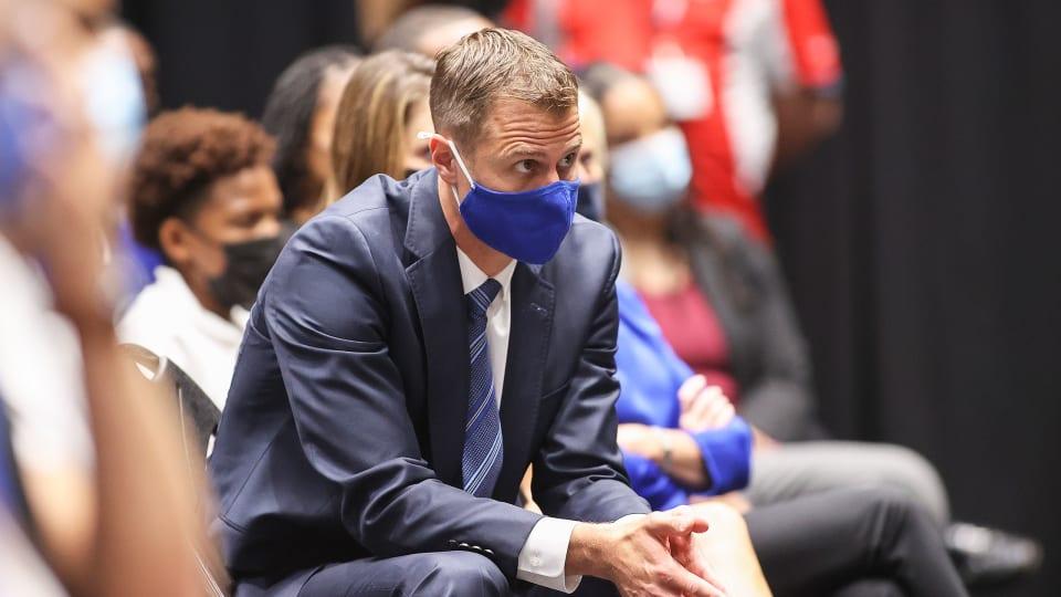 Duke coach Jon Scheyer