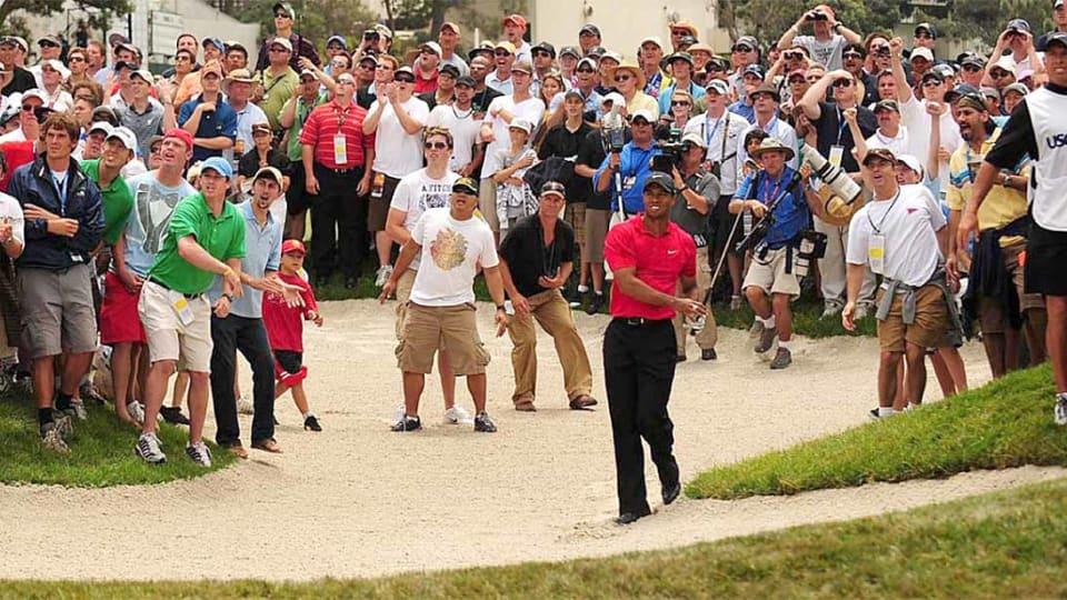 Tiger Woods, 2008 US Open
